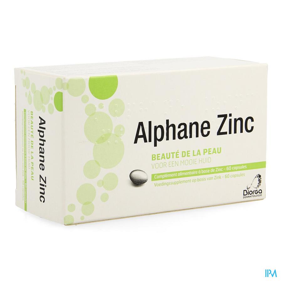 Alphane Zinc Blister Caps 6x10
