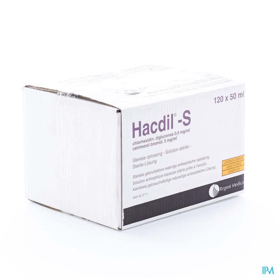 Hacdil-s 120x50 ml Unit Dose