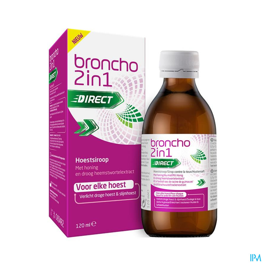 Bronchostop Bronchodirect Cough Syrup 120ml