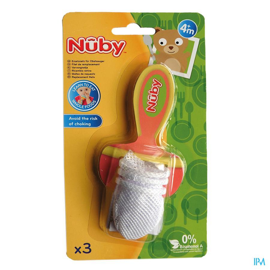 Nûby Filets de remplacement - 6m+