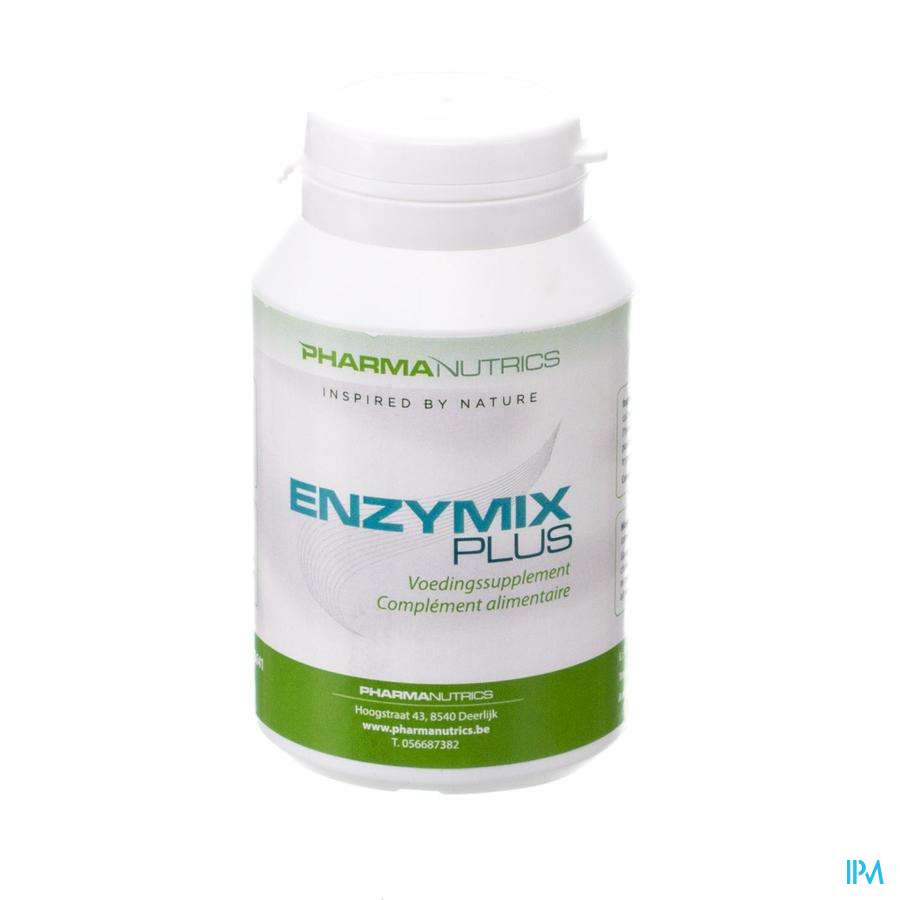 Enzymix Plus V-caps 90 Pharmanutrics