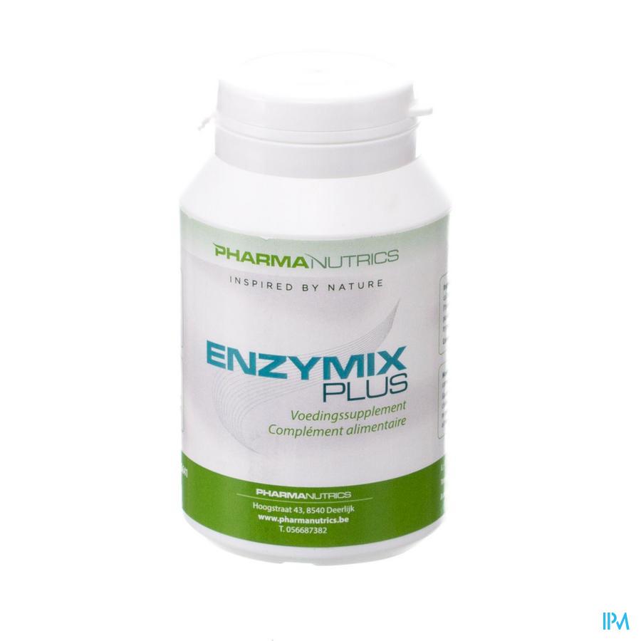 Enzymix Plus V-caps 90 Pharmanutrics