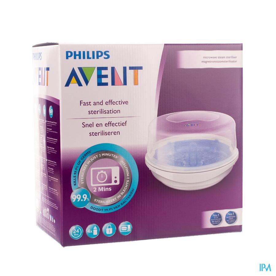 Philips Avent Sterilisateur Micro-ondes Sans Accessoires SCF281/02