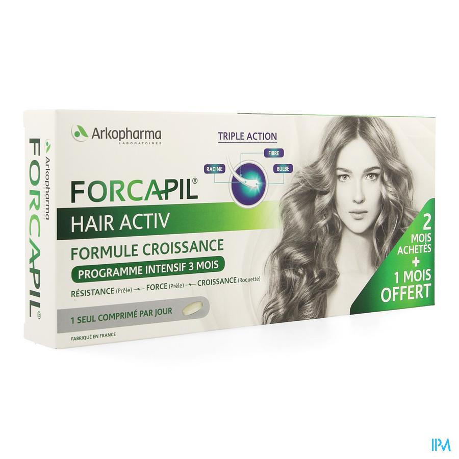 Forcapil Hair Activ Comp 3x30 Promo 3 Maand
