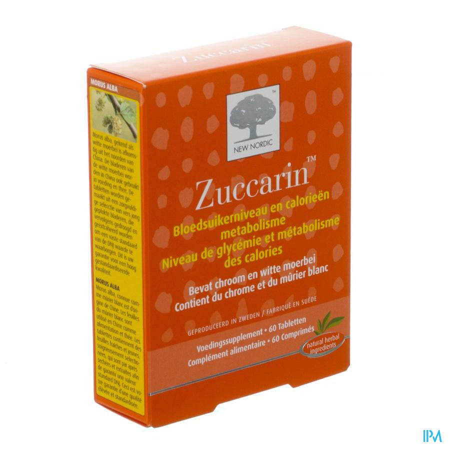 New Nordic Zuccarin Tabletten 60
