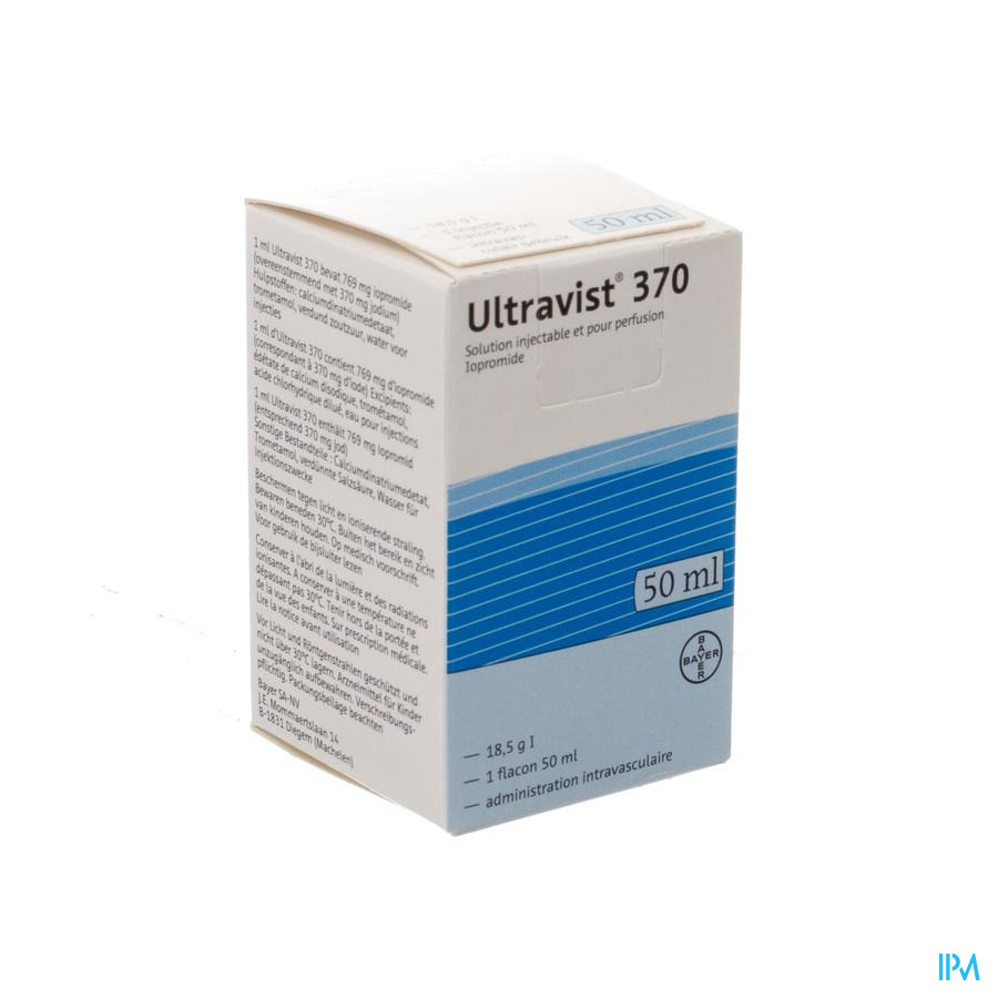 Ultravist 370 Fl Inj 1 X 50ml