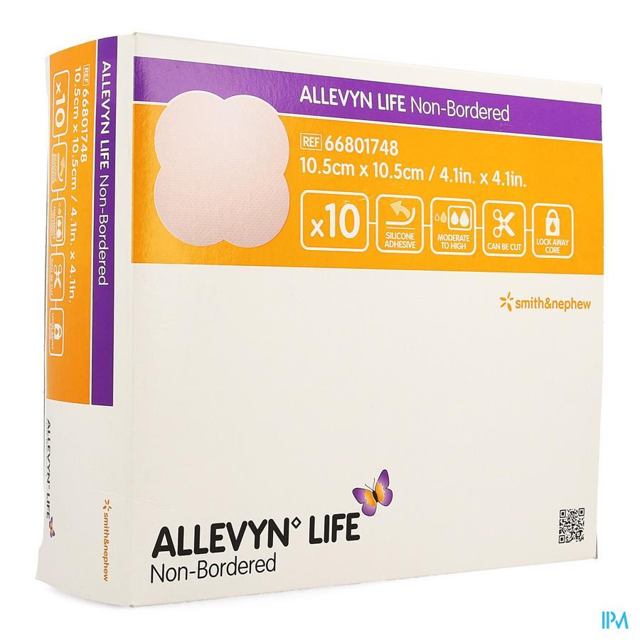 Allevyn Life Non Bordered 10,5x10,5cm 10 66801748