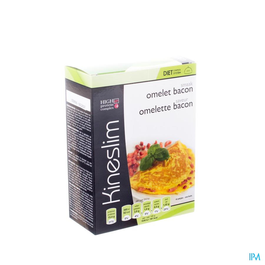 Kineslim Omelete Bacon Pdr Sach 4