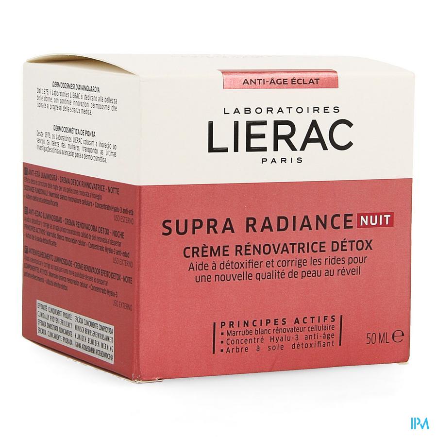 Lierac Supra Radiance Creme Nuit Pot 50ml