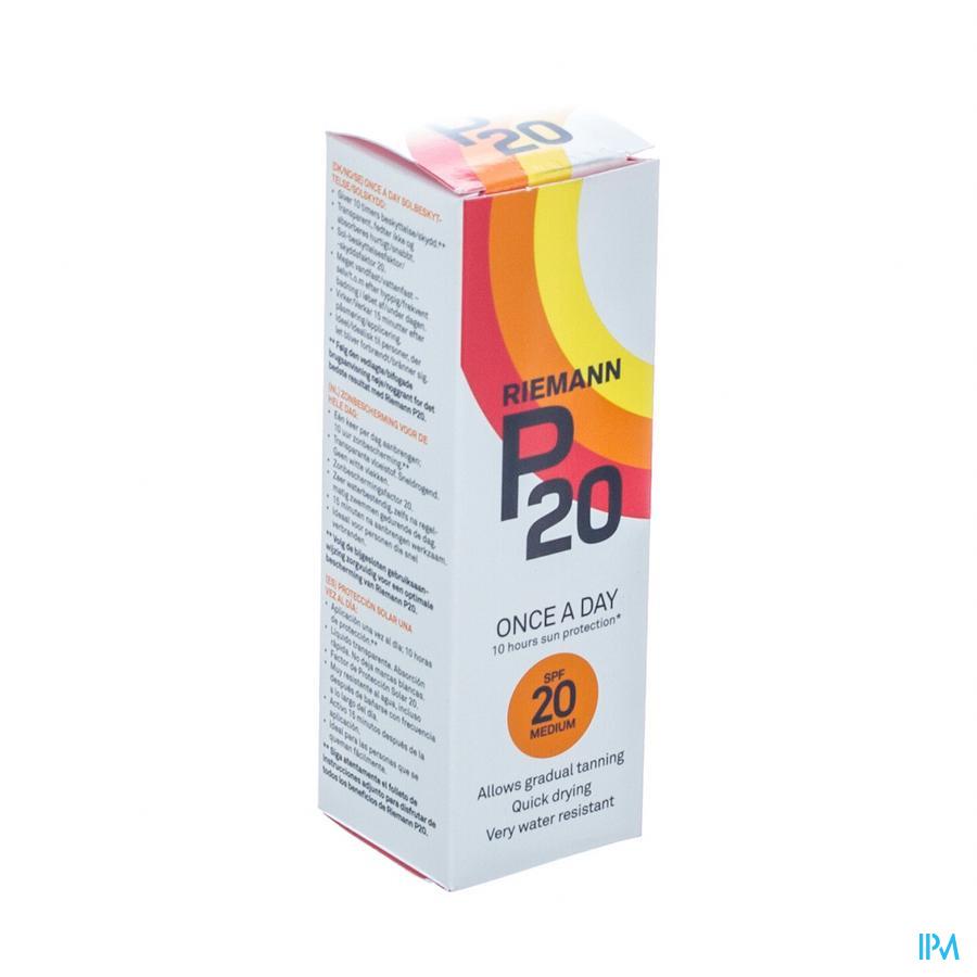 P20 Zonnefilter 100ml