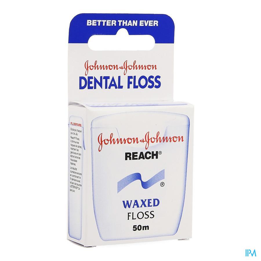 Johnson Reach Dental Floss Waxed 50m