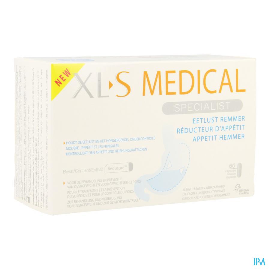 Xls Med. Reducteur Appetit V2 Caps 60