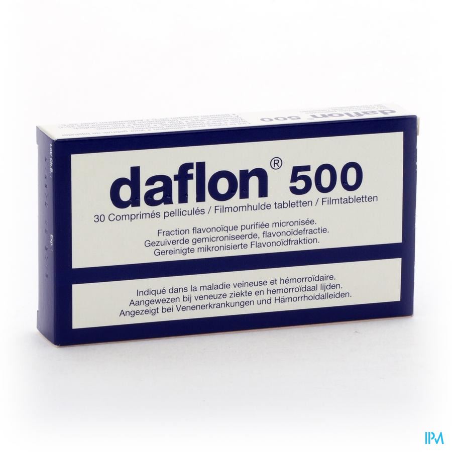 DAFLON 500 COMP 30X500MG