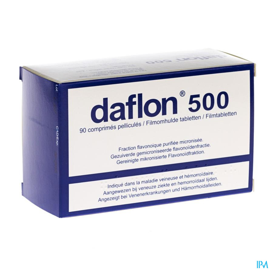 DAFLON IMPEXECO COMP  90X500MG PIP