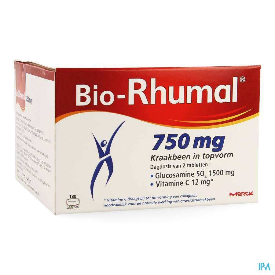 Afbeelding Bio Rhumal 750mg 180 tabl.