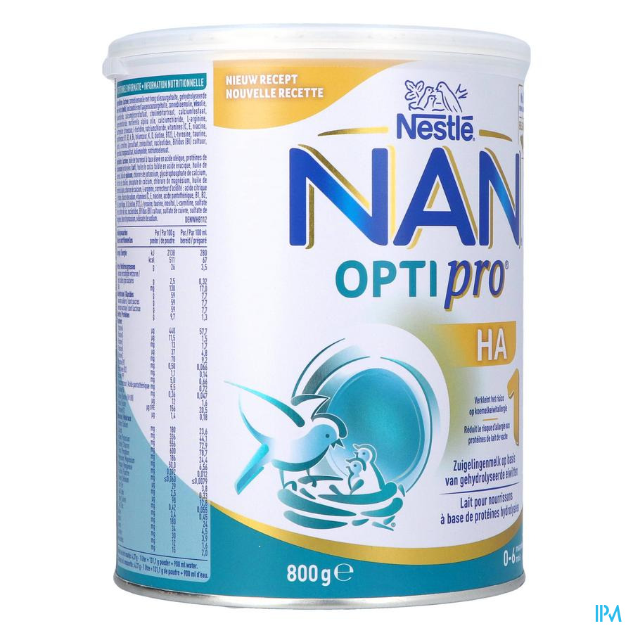 Nan Optipro Ha1 Melkpdr 800g Nf