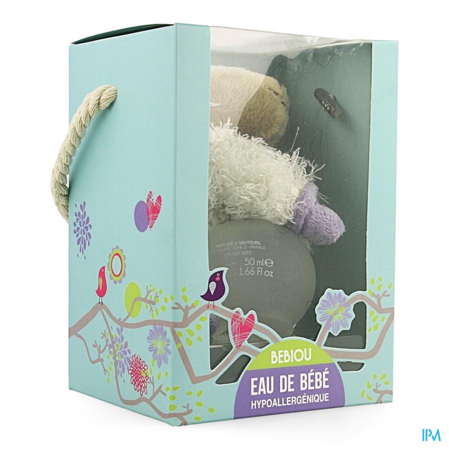 Bebiou Giftbox Schaapje + Babywater 50ml