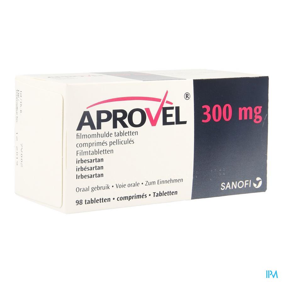 Aprovel Comprimés 98x300 mg