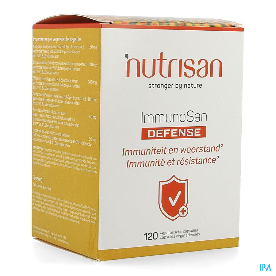 Immunosan Defense 120 Caps   -  Nutrisan