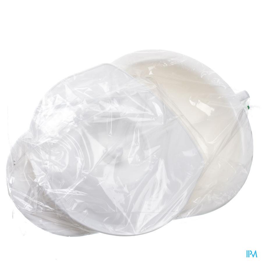 Miflex Bassin Lit +couv.plast Blanc