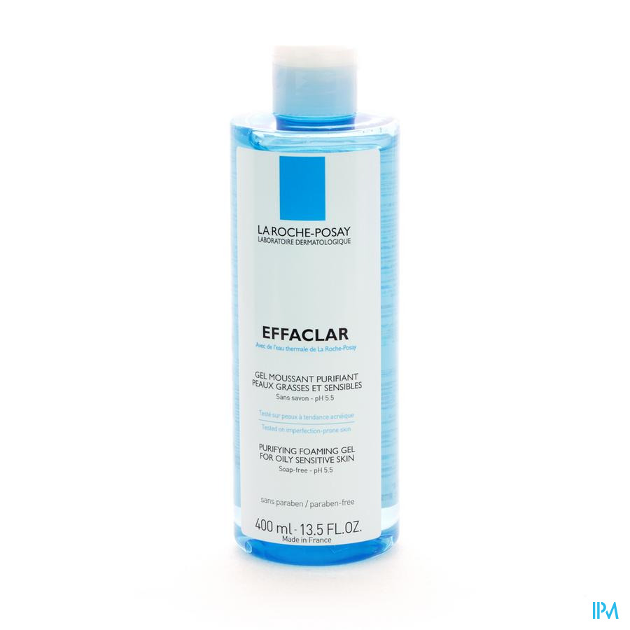 Lrp Effaclar Gel Moussant Purifiant 400ml