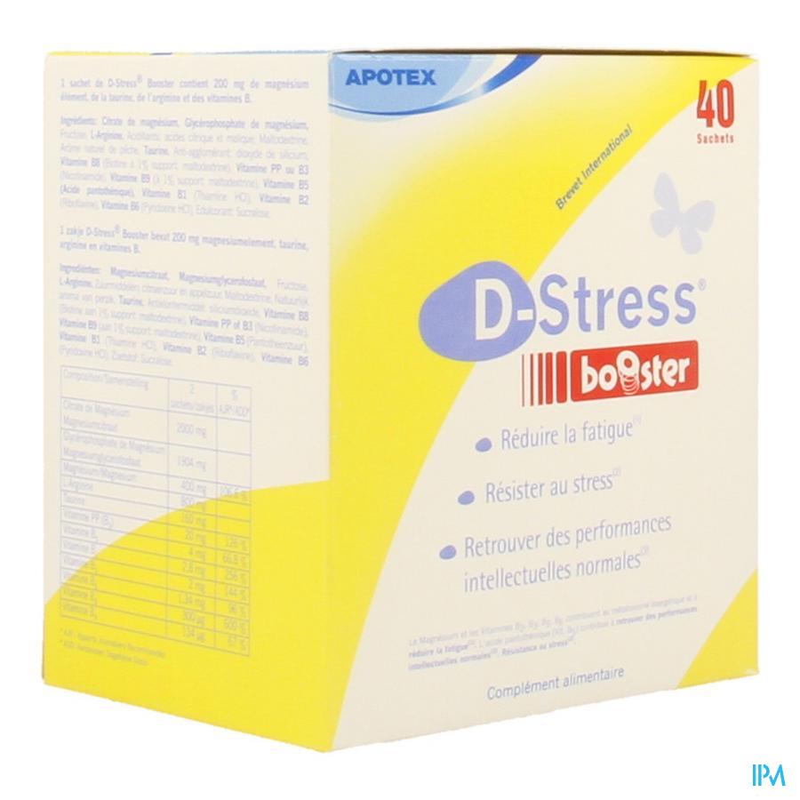 D-stress Booster Pdr Sach 40