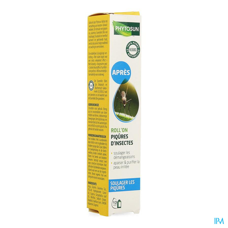 Phytosun Roll On Piqures Insectes 13ml