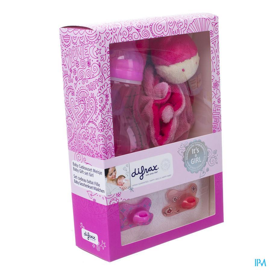 Difrax Set Cadeau Baby Meisje