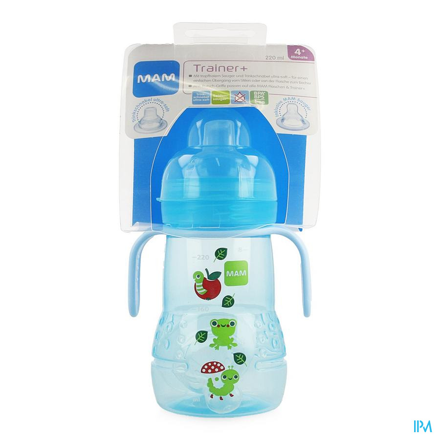 Mam Trainer+ Cup 220ml Jongen