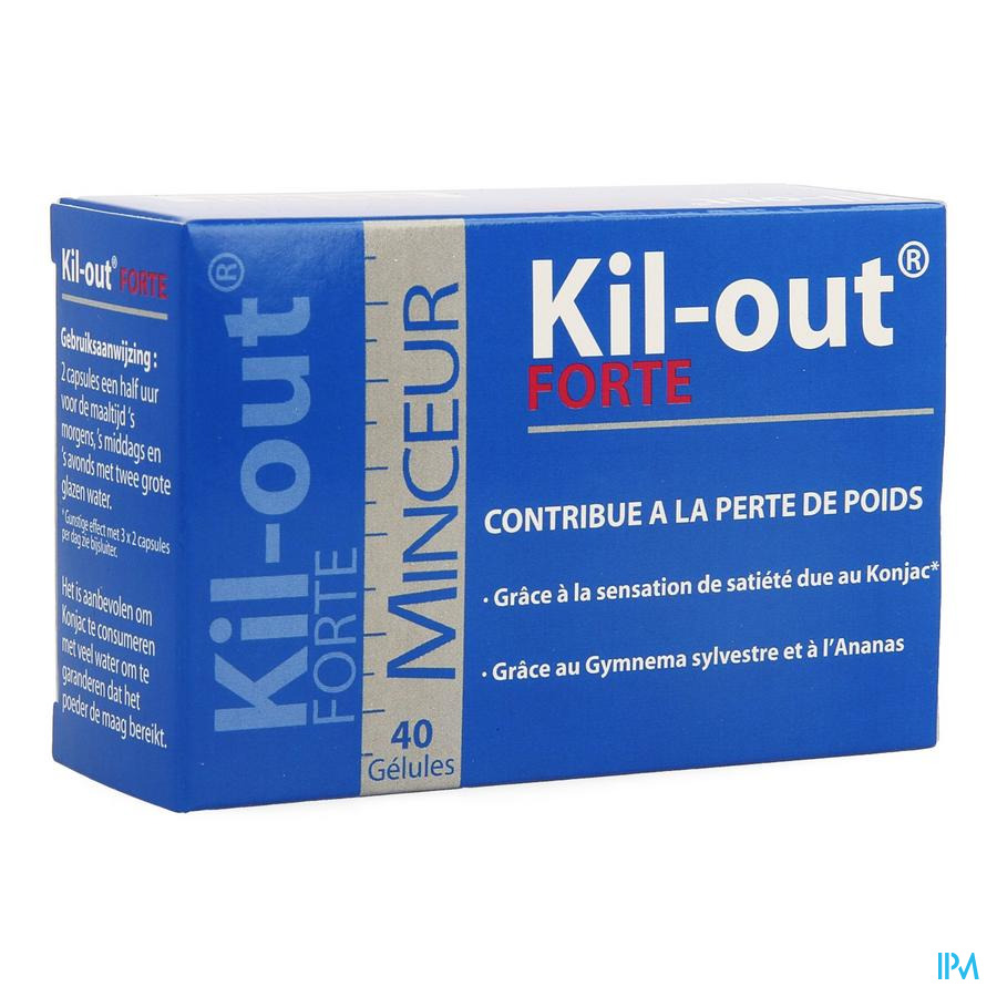Kil Out Forte Caps 40