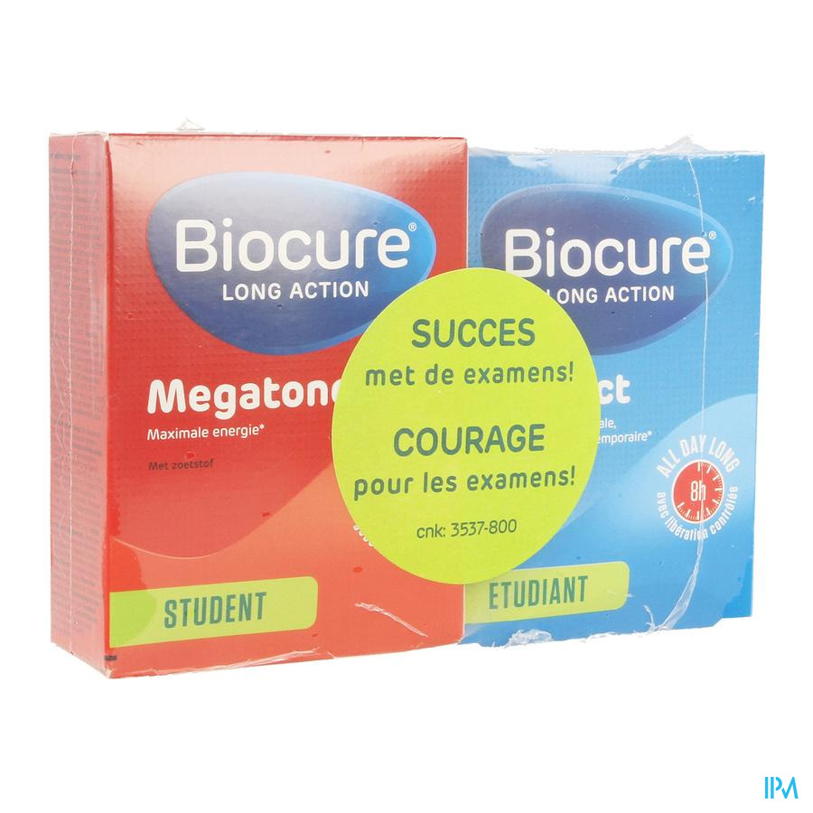 Biocure Student La Megatone+ Intellect Comp 30+40