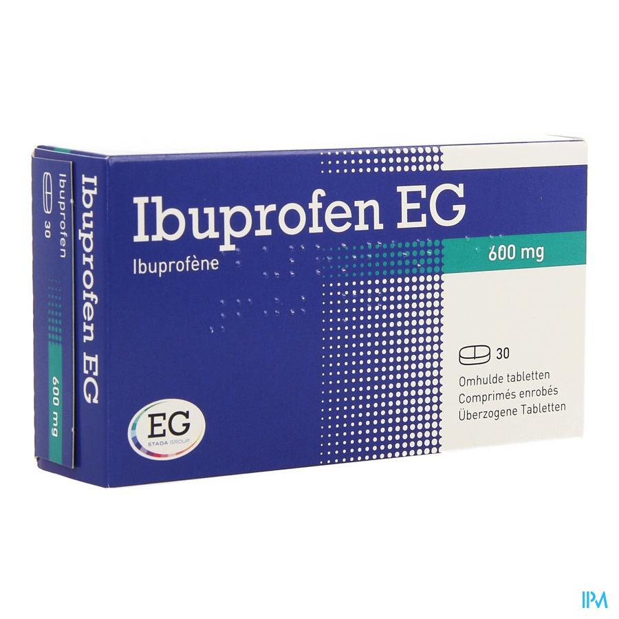 Ibuprofen Eg 600mg Filmomh Tabl 30 X 600mg