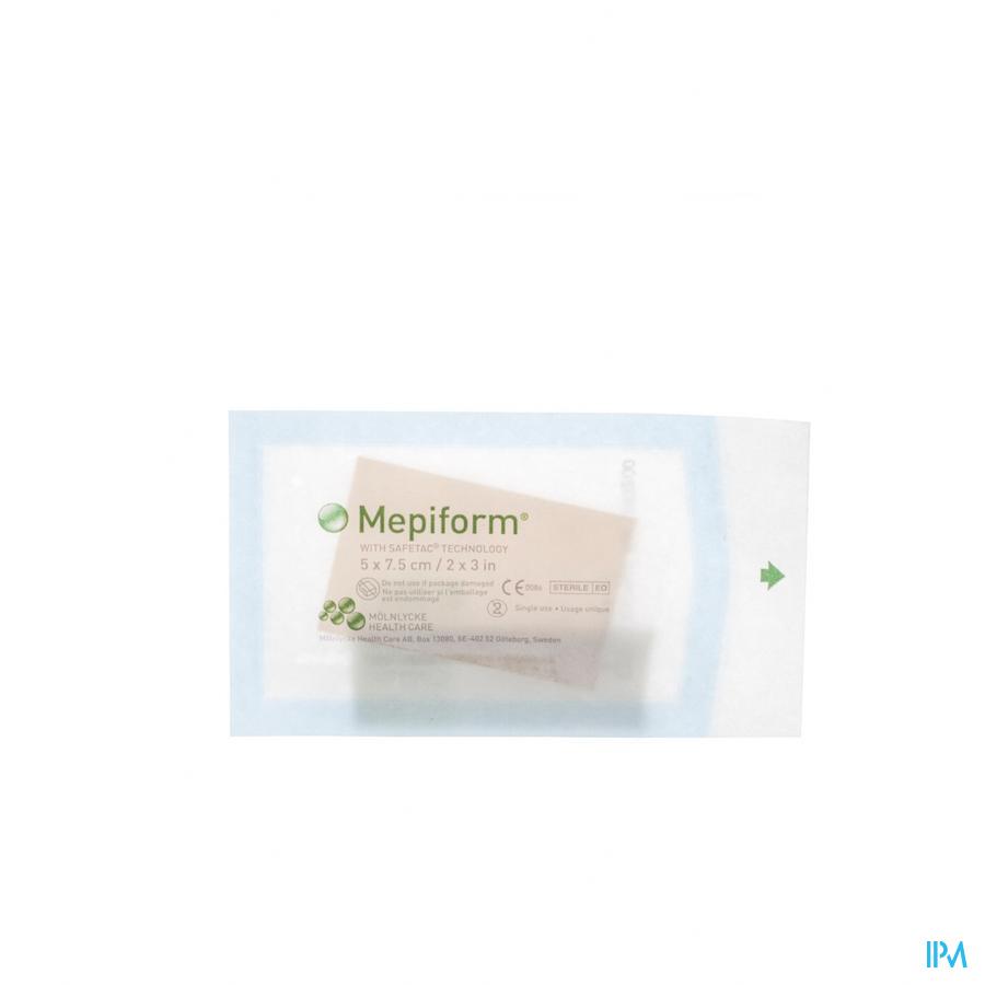 Mepiform Pans Adh A/cicat. Ster 5x 7,5cm 5 293200
