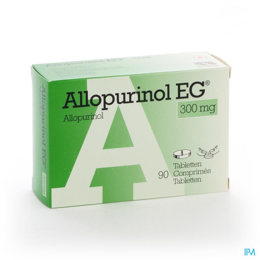 Allopurinol Eg Comp 90 X 300mg