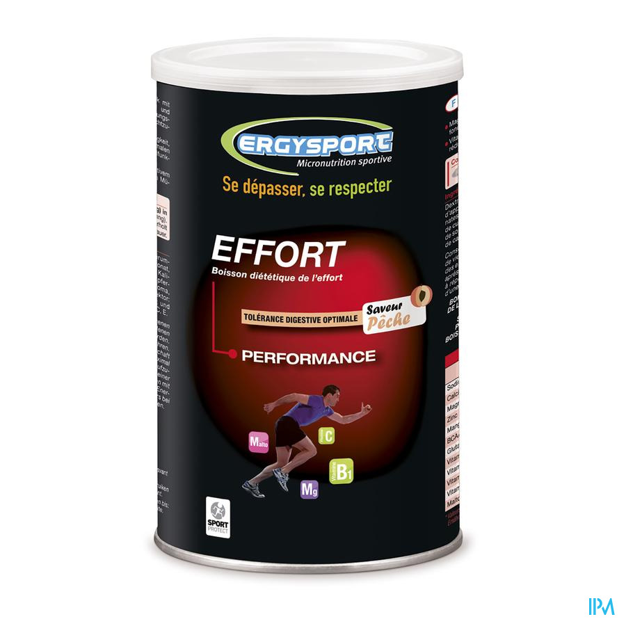Ergysport Effort Peche Boisson Pdr Pot 450g