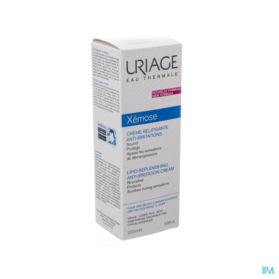 Uriage Xemose Creme Relipid. A/irrit. 200ml