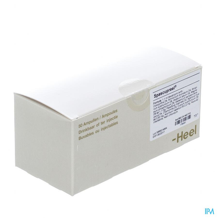 Spascupreel Heel Amp 50x1,1ml Heel