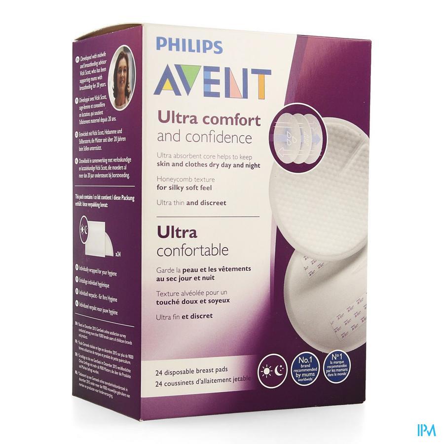 Philips Avent Coussinets Jour/nuit 24 Scf254/24