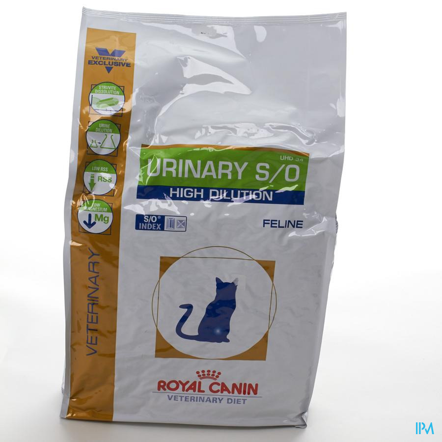 Vdiet Urinary High Dilution Feline 6kg