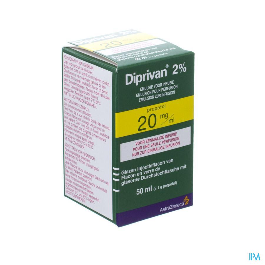 Diprivan 2% Vial 50ml 20mg/ml
