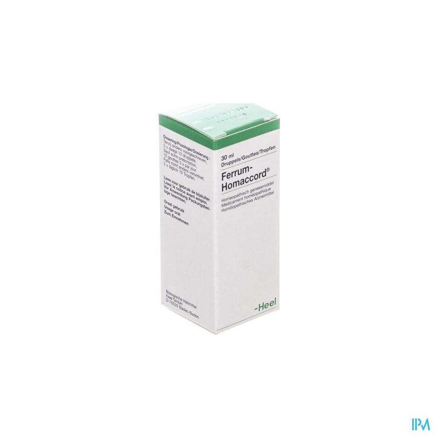Ferrum-homaccord Gutt 30ml Heel