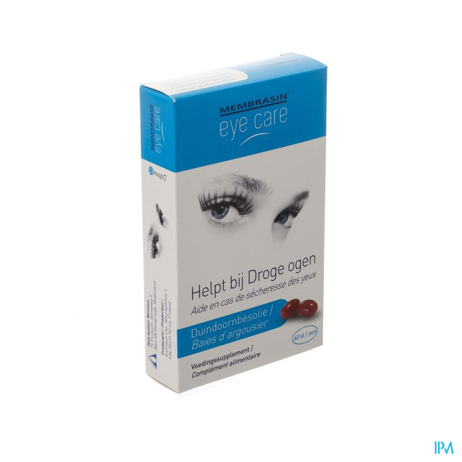 Membrasin Eye Care V-caps 60