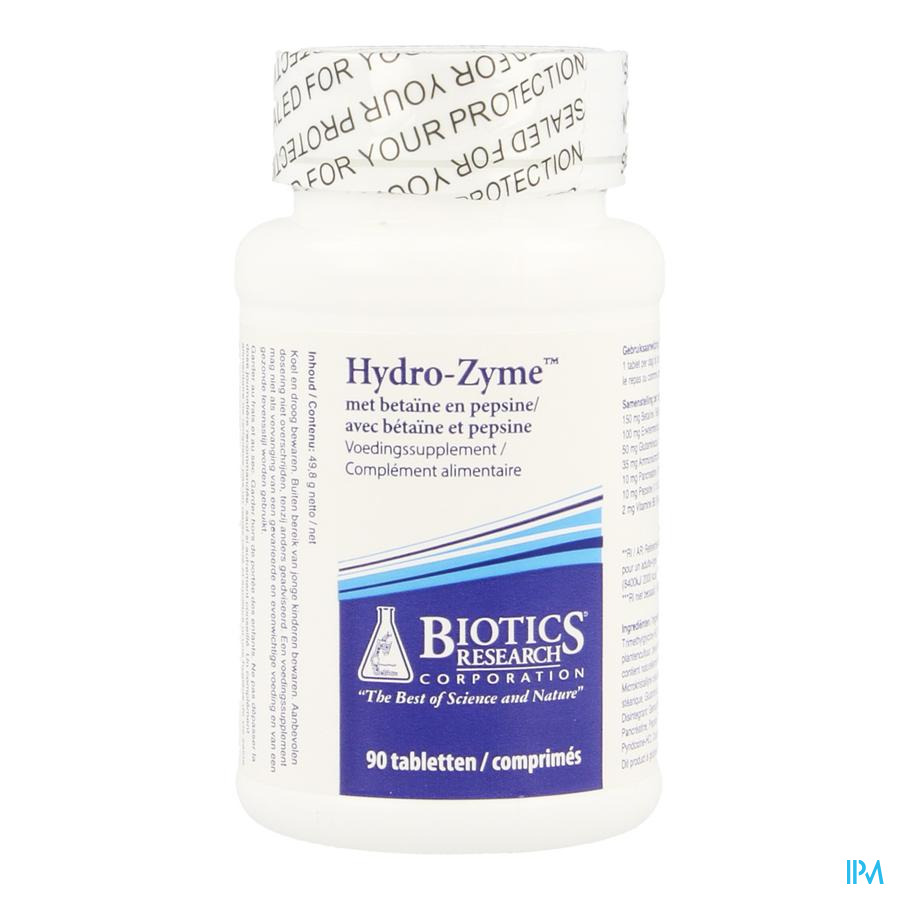 Hydrozyme Biotics Tabletten 90
