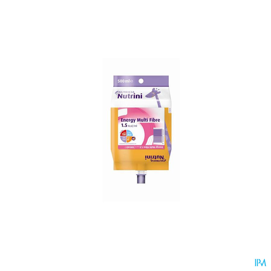 NUTRINI ENERGY MULTI FIBRE 1-6J   PACK 500ML 65718