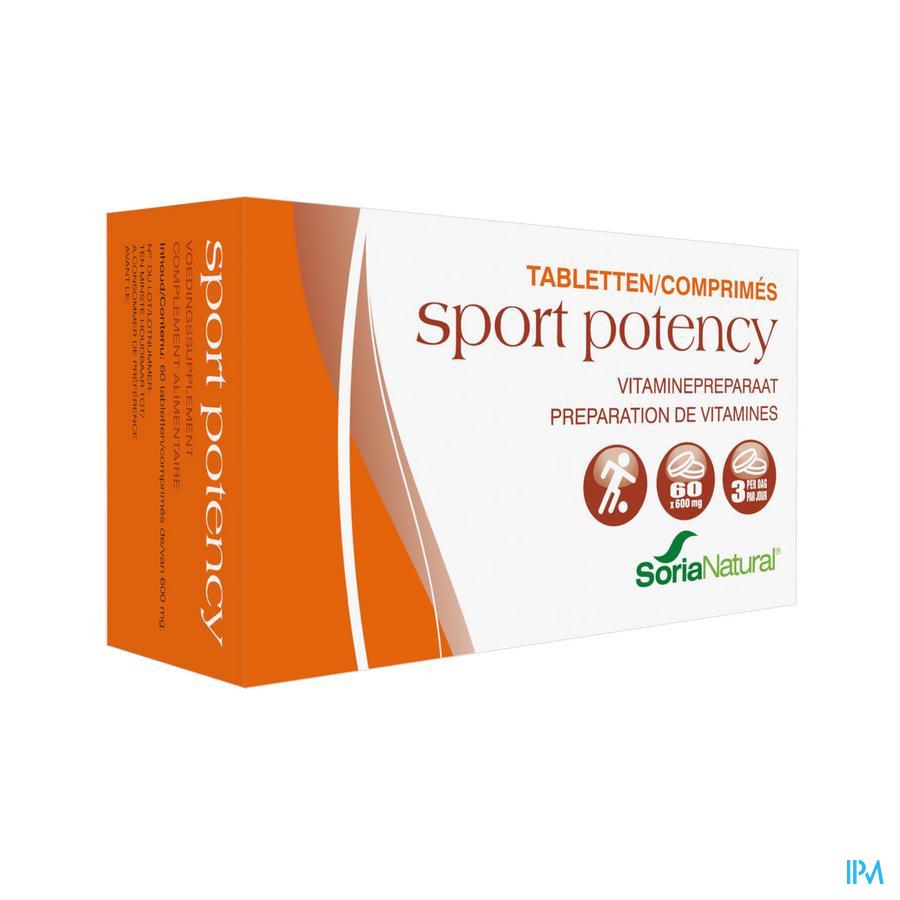 Soria Sport Potency 60 Tabletten