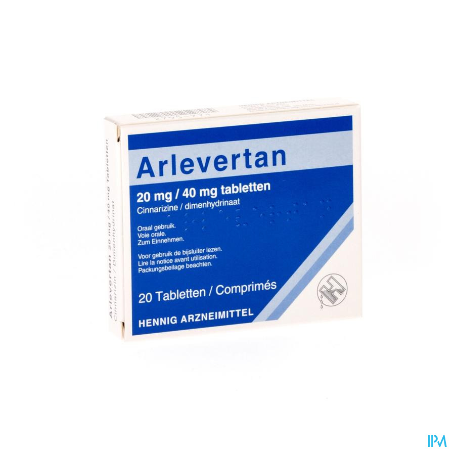 Arlevertan Kela 20mg/40mg Tabl 20