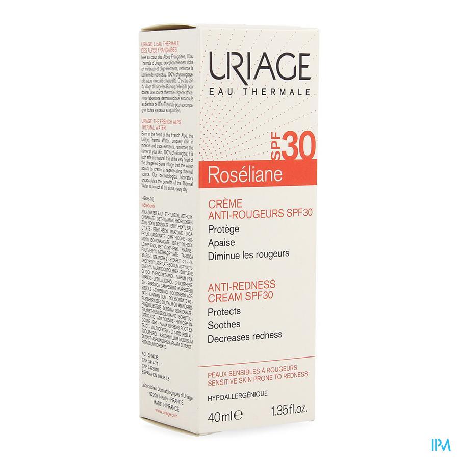 Uriage Roseliane Creme Anti Rougeurs Ip30 40ml