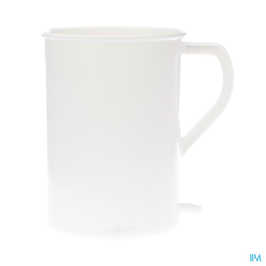 Pharmex Irrigateur Blanc Plastique 2l