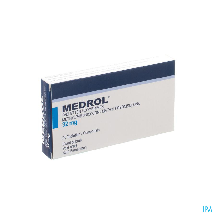 Medrol 32mg Impexeco Comp 20 X 32mg Pip