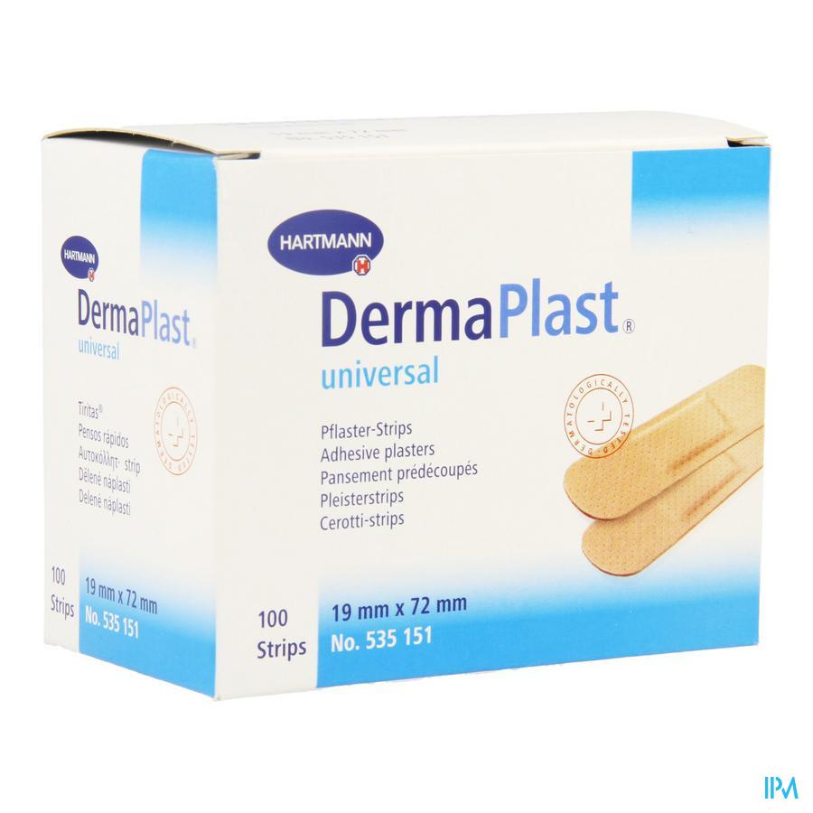 Dermaplast Universal 19x72mm 1x100 P/s